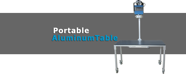 Aluminum, Portable Aluminum Table