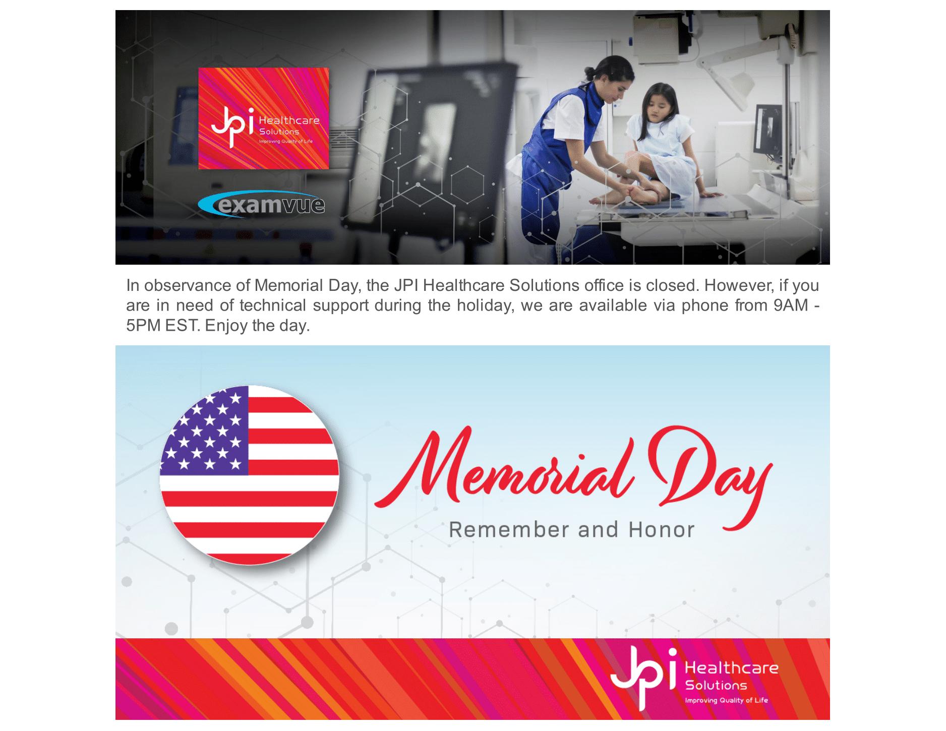JPI Memorial Day 2020